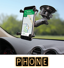 Phone Mounts - Mounts for your Smartphone and Phablet