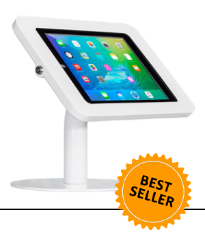 POS Tablet Mount and Tablet Kiosk, Freestanding or Bolt-Down