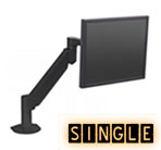 Single Monitor Mounts, Monitor Mounts for 1 Monitor or TV