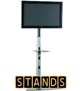 TV Floor Stands and LCD Stands