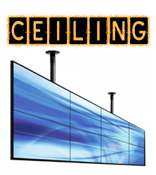 Video Wall Ceiling Mounts