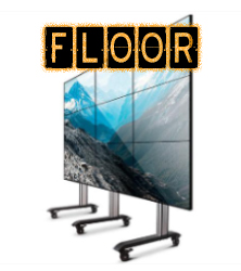 Video Wall Freestanding Mounts