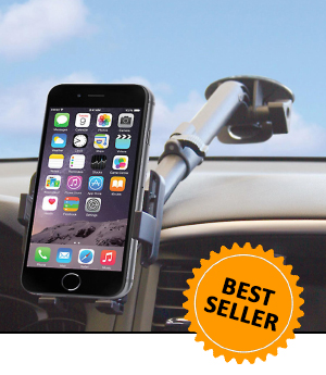 Telescoping Suction Cup Mount for your SmartPhone or Phablet